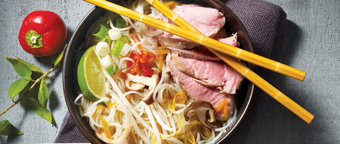 Soupe Tonkinoise (Pho) au porc