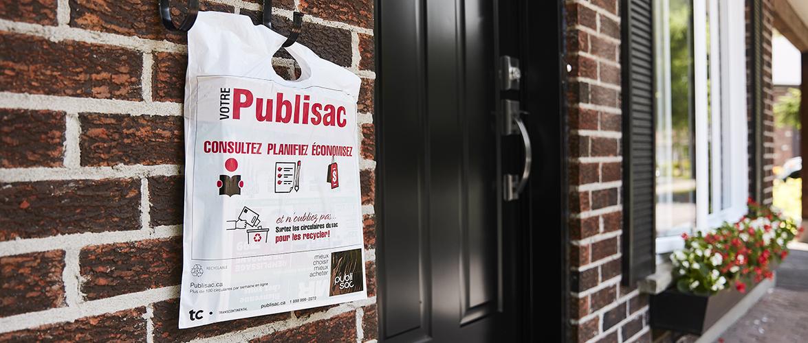 Une campagne publicitaire pour Publisac