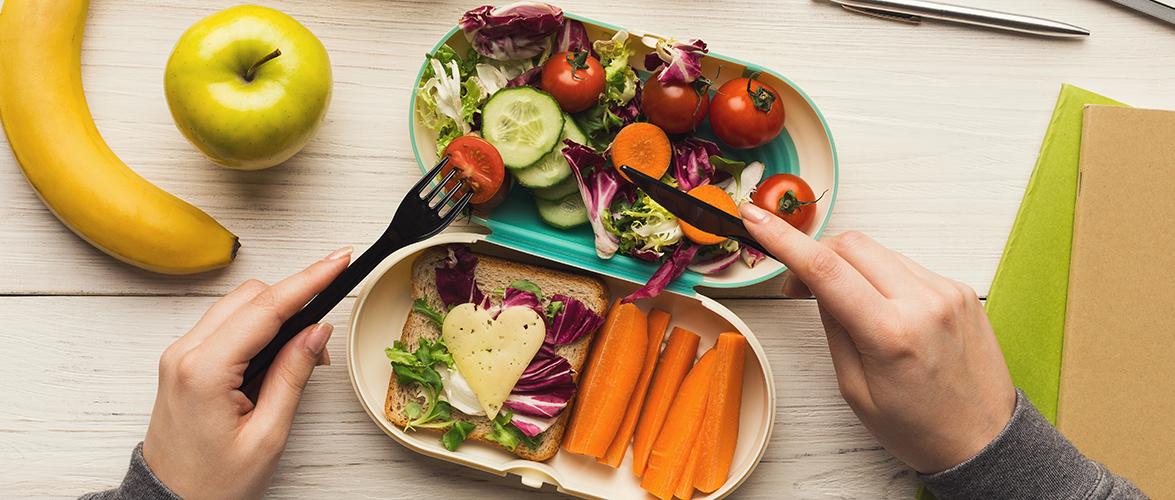 Une boîte à lunch équilibrée et plus verte!