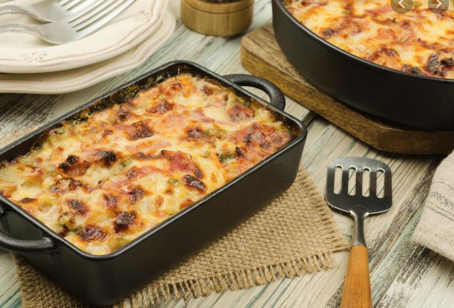 Recette réconfortante : Gratin de jambon et pommes de terre