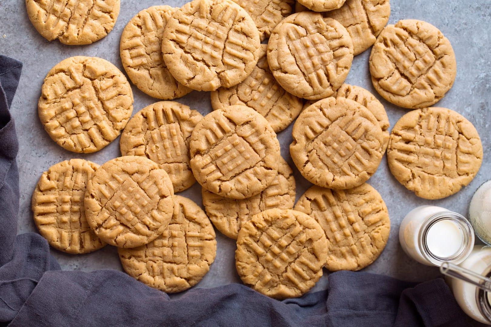 Recette facile à 3 ingrédients pour les enfants: Biscuits au beurre d'arachide
