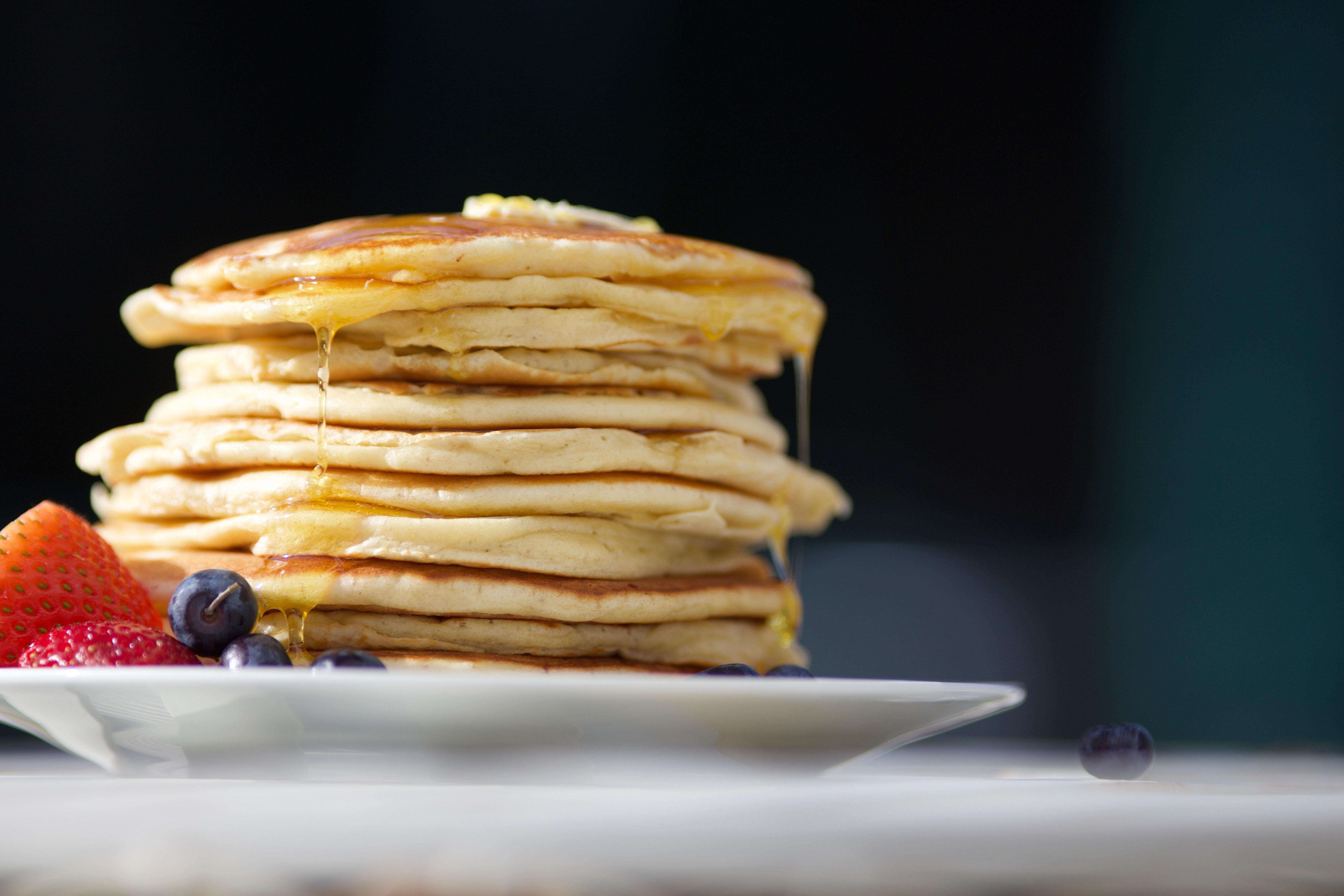 Brunch : recette de mini-pancakes au chocolat