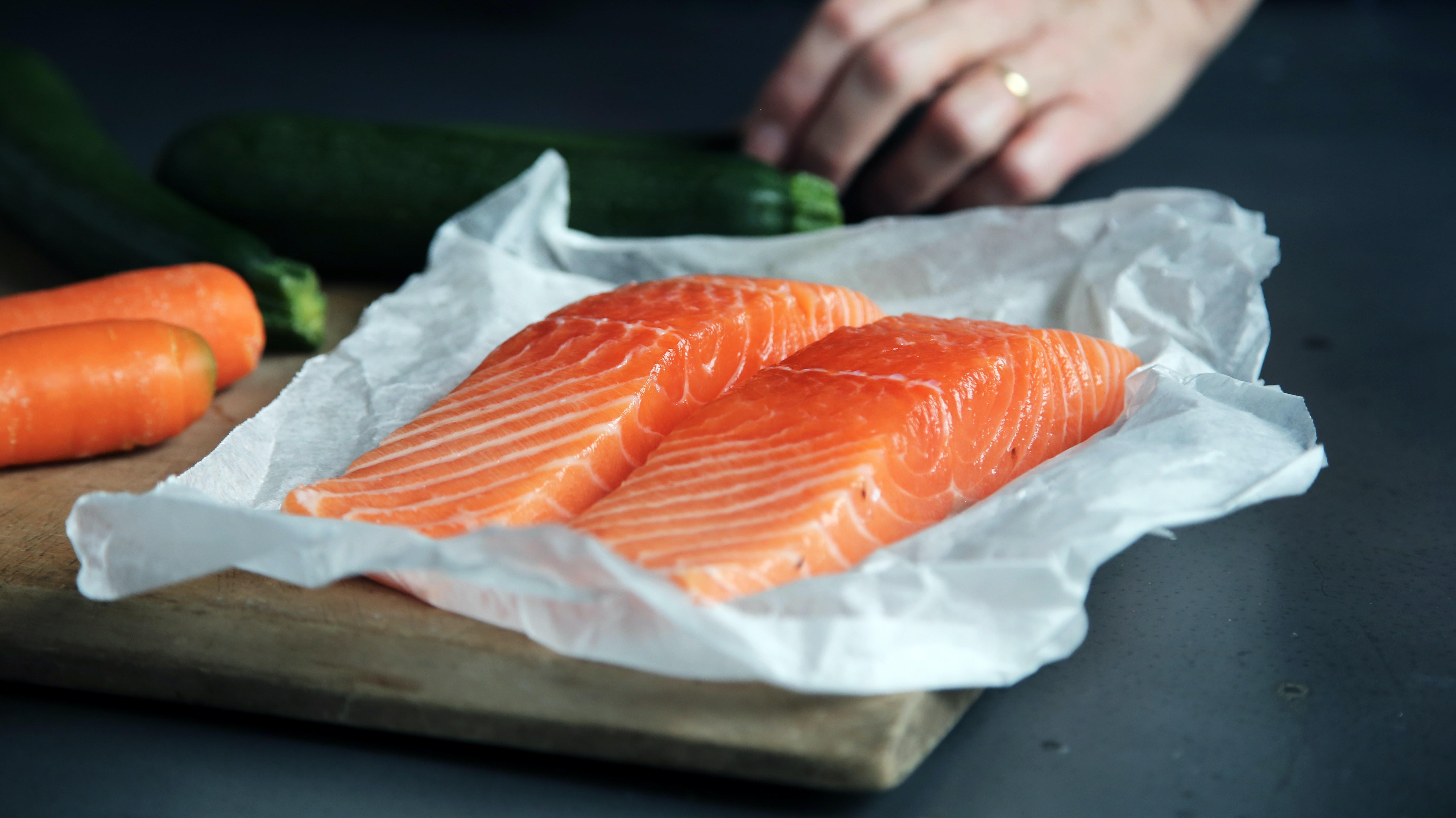 Recette de saumon à l'érable