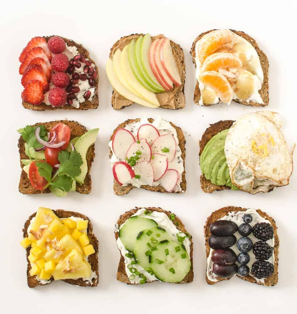 5 façons de changer vos toasts du matin!
